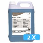 Suma Select A7 spoelglansmiddel 2 x 5 liter