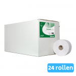 Euro Products Toiletpapier compact 2-laags wit 24 x 100 meter