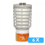 Luchtverfrisser Tcell citrus mix 6x navul