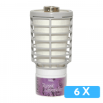 Luchtverfrisser Tcell sweet lavendel 6x navul