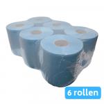 Midi rol 2-laags blauw verlijmd 6x150mtr 20cm