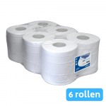 Euro Products | Midirol 2-laags | Cellulose wit | 6 x 160 meter