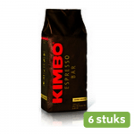 Kimbo Extra Cream koffiebonen 6 x 1 kg