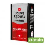 Douwe Egberts | Melange Rood | Standaard | 24 stuks a 250 gram