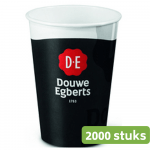 Douwe Egberts bekers 180 ml 2000 stuks