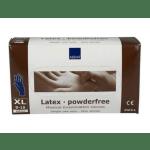 Handschoen Latex wit ongepoederd maat xl 100 stuks