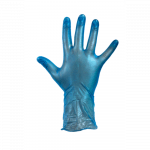 Comfort Handschoen Vinyl gepoederd  XL blauw