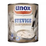 Magazijnopruiming: Unox stevige champignonsoep 6 x 0,8 liter