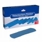 Utermöhlen Detecteerbare Pleisters blauw 19 x 72 mm 100 stuks