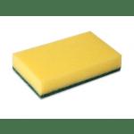 Weco | Schuurspons | Geel-groen | 10 stuks