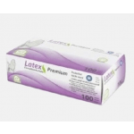 Medi Inn Handschoenen Latex transparant Maat M doosje 100 stuks