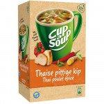 Unox Cup-a-Soup Thai Spicy Chicken 175 ml 21 zakjes