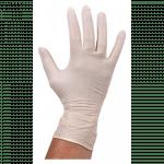 Comfort Handschoen Latex  ongepoederd XL wit
