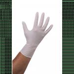 Comfort Handschoen Nitril ongepoederd  XL wit