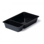 Plastic bakjes zwart A20 (A14+1) 500 stuks