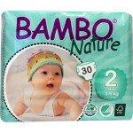 Bambo | Luiers 2 | Mini | 3-6 kg | 30 stuks