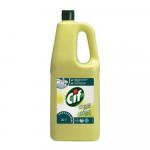 Cif prof cream schuurmiddel citroen 2 liter