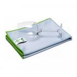 Greenspeed glasdoek blauw 70x61 cm poleerdoek