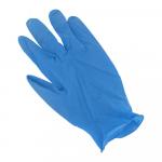 Handschoen Latex  gepoederd Blauw XL
