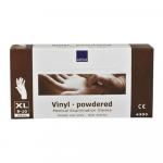 Handschoen vinyl wit gepoederd x-large a100
