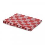 Keukendoek geblokt 60 x 60 cm rood/wit 6 stuks