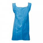 LDPE schort 80x125 25my blauw 1000 st