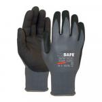 M-safe handschoenen nitril foam zwart maat 10