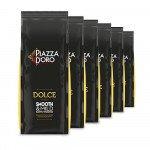 Piazza d' Oro | Dolce koffiebonen | Doos 6 x 1 kg