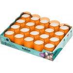 Bolsius | Relight Oranje kaarsen | Navulling 20 stuks