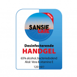 Sansie care desinfecterende handgel 24 x 120 ml