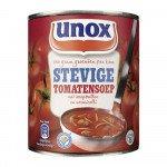 B-stock: Unox | Stevige tomatensoep | Blik 12 x 0,8 liter