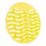 Urinoirmat Lemon Geel met antispat haartjes 10 stuks
