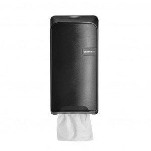 Euro Products Quartz Bulkpack Toiletrolhouder zwart
