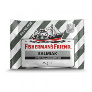 Fisherman's Friend Salmiak suikervrij 24 zakjes