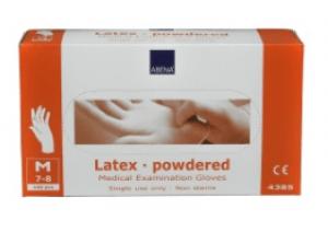 Handschoen Latex Blauw gepoederd X-Large 100 stuks