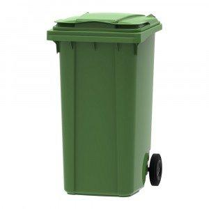 Mini rolcontainer 240 liter groen