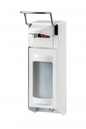 Zeep- & desinfectiemiddeldispenser 500 ml KB wit