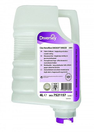 Clax Revoflow DEOSOFT BREEZE 54X1 wasverzachter 2 x 4 liter