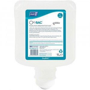 DEB OxyBac foam wash hypoallergeen 6 x 1 liter
