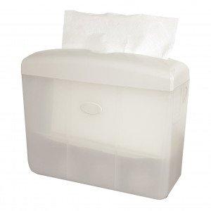 Euro Products | Tafeldispenser | Multifold Handdoekpapier | Wit