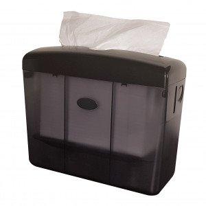 Euro Products | Tafeldispenser | Multifold Handdoekpapier | Zwart