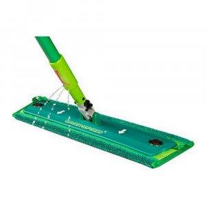 Greenspeed Click'm Mopsysteem steel + vlakmophouder + mop