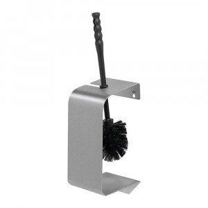 MediQoLine | Toiletborstelhouder | Anti-fingerprint | RVS