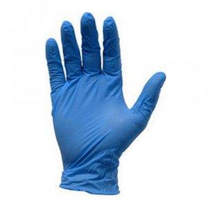 Nitril handschoen blauw ongepoederd M 100 st