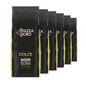 Piazza d' Oro Dolce koffiebonen 6 x 1 kg