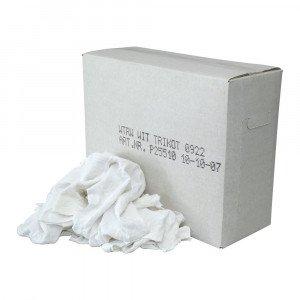 Poetsdoek witte tricot doos 10 kg