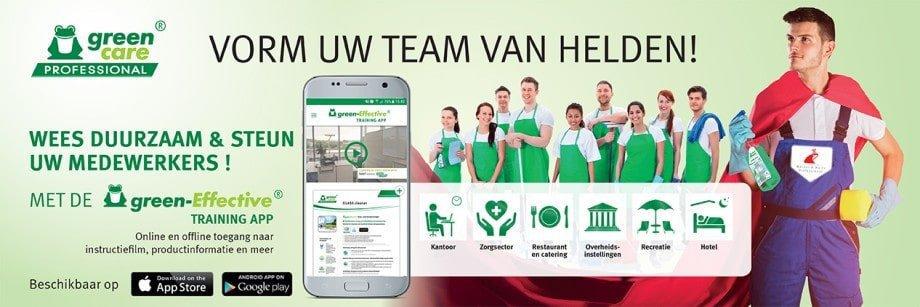 Green-Effective Training app